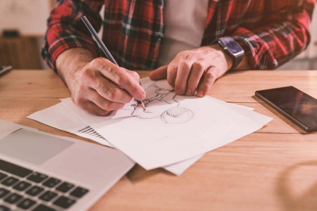 illustrator freehand sketching