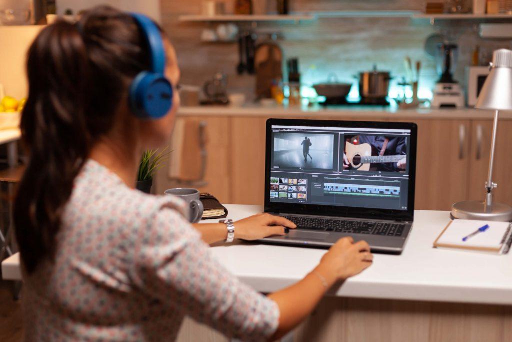 Edit audio video