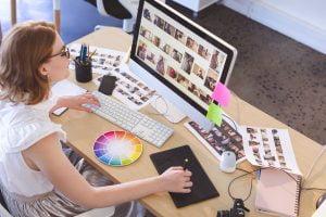 Grafische vormgever (student)