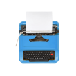 typewriter-blue